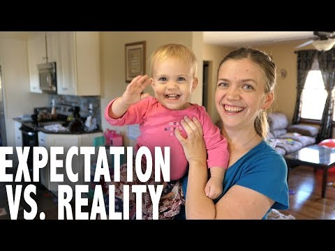 Expectation vs. Reality Baby Edition || Chores, Sleeping & Obedience
