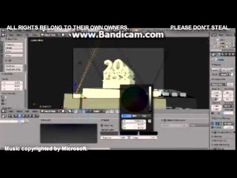 20th Century Fox intro (BASIC) - Blender Tutorials
