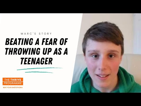 Teenager talks about beating emetophobia after five-year ordeal