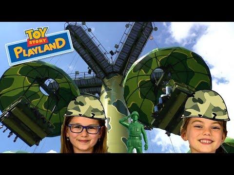 Parachute Drop   Disneyland Paris Toy Story Playland