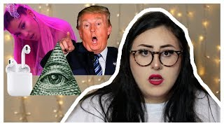 POP CULTURE CONSPIRACY THEORIES (TERRIFYING) | MICHELLE PLATTI