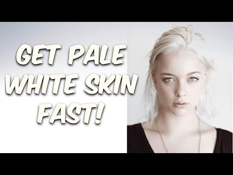 Get Pale White Skin Fast! Subliminals Theta Frequencies Hypnosis