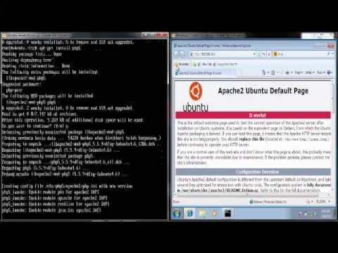 Setting WEB & MAIL SERVER di Ubuntu 14.04