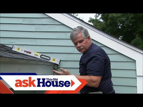 How to Install a Rain Gutter