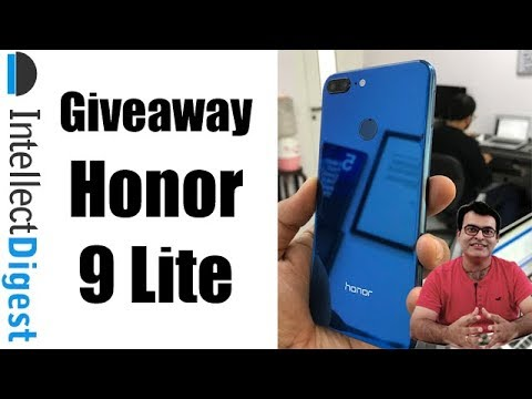 #Giveaway Announcement- #Honor9Lite #MaxYourBeauty Contest