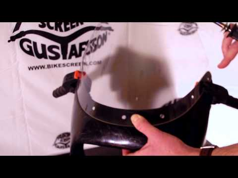 How to Drill (Acrylic) Windscreen - Gustafsson Motorcycle Windscreen