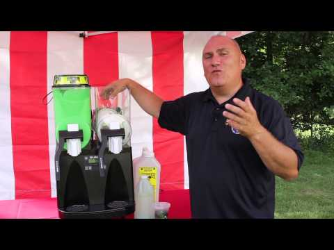How to use a Bunn Ultra 2 Slushie Drink Machine