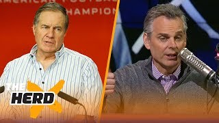 Colin lists all the issues the Patriots have overcome to get to the AFC Championship | THE HERD