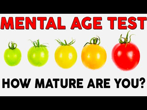 MENTAL AGE TEST  - Personality Test | Mister Test