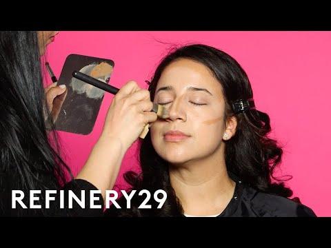 I Got Transformed Into Gina Rodriguez   Beauty Evolution   Refinery29