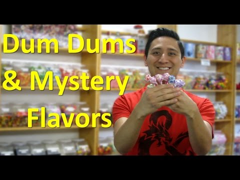 Dum Dums & Mystery Flavors // TheCandyGuy