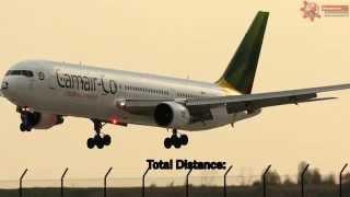 Shortest International  Flight In The World