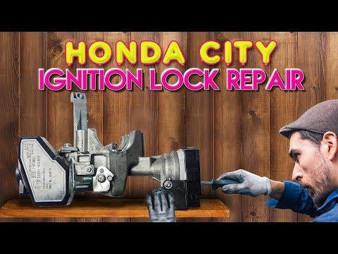 New Honda City & Jazz (2014-18) Ignition Lock Repair