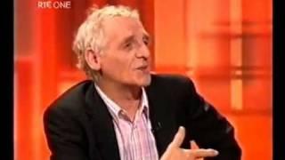 Eamon Dunphy nearly starts a Brawl on Prime Time, April 2004