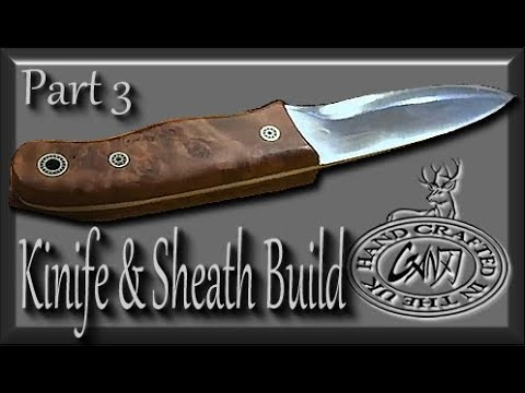 PART TWO: HOW TO MAKE A BUSHCRAFT KNIFE / FINAL PICTURES