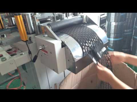 Hardware Dies Rubber Gasket Automatic Die Cutting Machine Remove Waste Automatically
