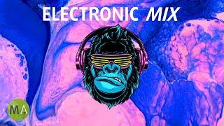 Upbeat Study Music Electronic Mix for Deep Focus (Neon Gorilla) - Isochronic Tones