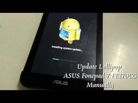 Failed Lollipop Root Asus ME572 - Asus Memo Pad 8 Lollipop