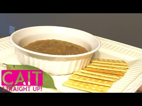Split Pea Soup From Scratch | Cait Straight Up
