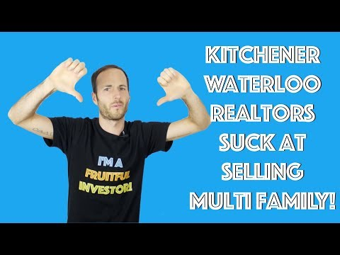 Kitchener Waterloo Real Estate Agents SUCK At Selling Multi Family Buildings!! 3 Tips To Sell Quick!