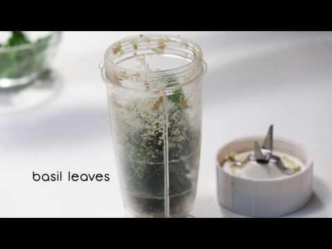 How To Make Perfect Pesto | Sanjeev Kapoor Khazana