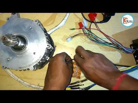 E-Rickshaw BLDC Motor Controller Wiring Kaise Kare   Electric Guru