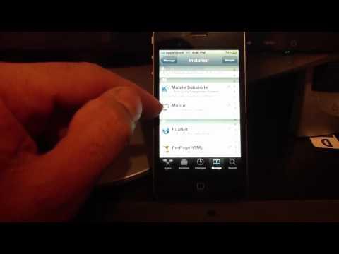 MY IPHONE 4 CYDIA TWEAKS 2012 NEW iOS5 iPhone