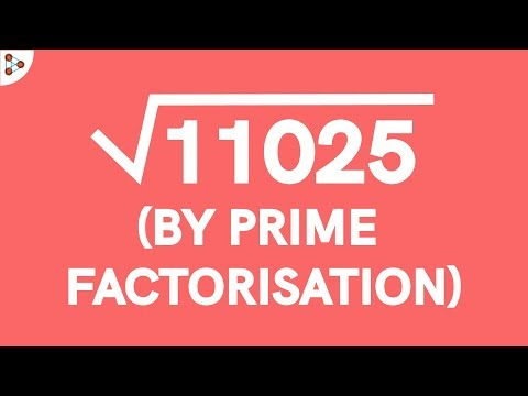 How do we Find the Square Root of a Number using the Prime Factorisation Method? Part 2