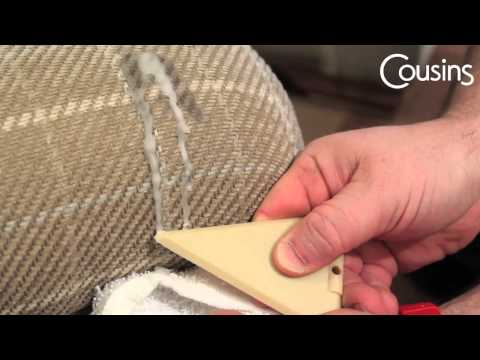 Wax Removal from Upholstered Furniture - Candle Wax