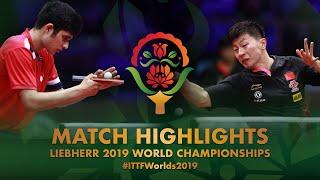 Ma Long vs Kanak Jha | 2019 World Championships Highlights (R64)