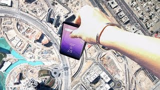 WHAT HAPPENS IF YOU DROP YOUR PHONE FROM THE 78TH STORY?