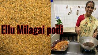 Ellu Milagai podi by Revathy Shanmugam