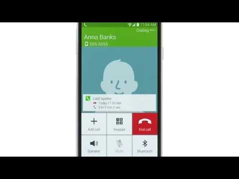 How To Make Calls - Samsung Galaxy S5