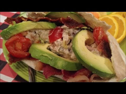 Chicken/Turkey Salad with Bacon: How to Make Amazing Pocket Sandwich