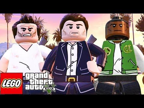Trevor, Franklin e Michael do GTA 5 (MOD) LEGO Marvel's Avengers (LEGO Marvel Vingadores)