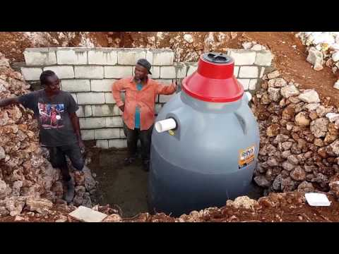 Building a House - Septic Tank Installation