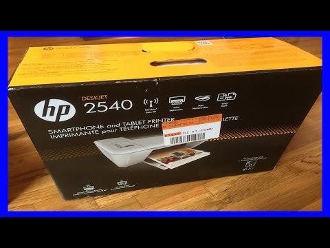 HP Deskjet 2540 Review ★★★ Setting up HP 2540