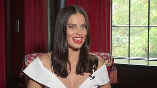 Adriana Lima asked another famous model for advice about hosting a TV show