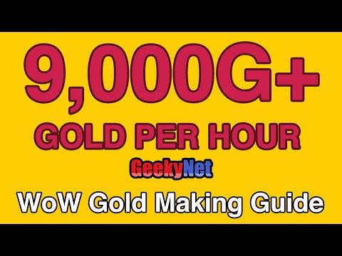 9,000G PER HOUR! WoW Gold Farming Spot + Pets & MOUNTS!!