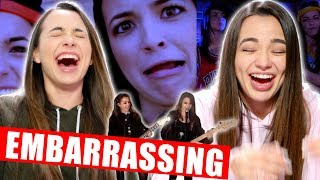REACTING TO OLD MUSIC VIDEOS (EMBARRASSING) Merrell Twins