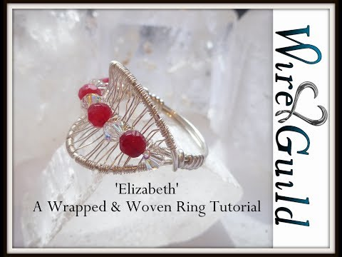 Elizabeth - Simple Wire Wrapped & Woven Ring Tutorial
