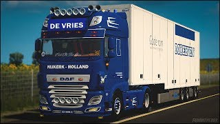 ETS2 v 1 31] Daf XF Euro 6 Reworked v2 2+ Low Deck + Heavy Haulage