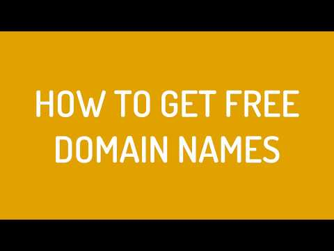 How To Register Free Domain Name 2017 (Step by Step tutorial to get free domain)