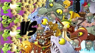 Download Plants vs Zombies 2 Epic Hack : The ThreeBaller Cannon vs Each Freakin' Zombots Video