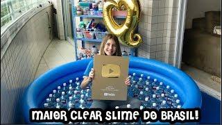 FIZ A MAIOR SLIME TRANSPARENTE DO BRASIL !!! MUITA QUALIDADE ! ESPECIAL 1 MILHÃO ! POR SOFIASFURLANI