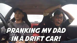 PRANKING MY DAD IN A DRIFT CAR | Shawn Lee
