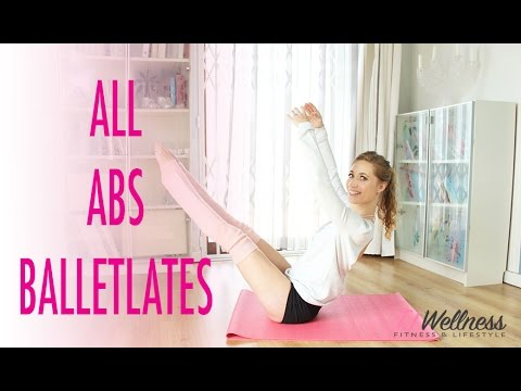 All Abs Workout | Balletlates | Ballet workout | Pilates workout