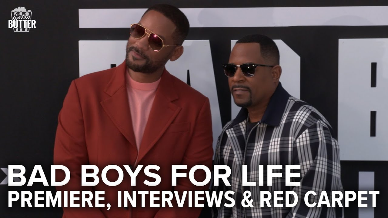 Bad Boys for Life: Miami Premiere, Interviews & Red Carpet | Extra Butter