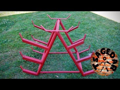 Stojan na železný materiál / DIY Homemade metal rack