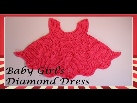 Baby Girl's Diamond Dress